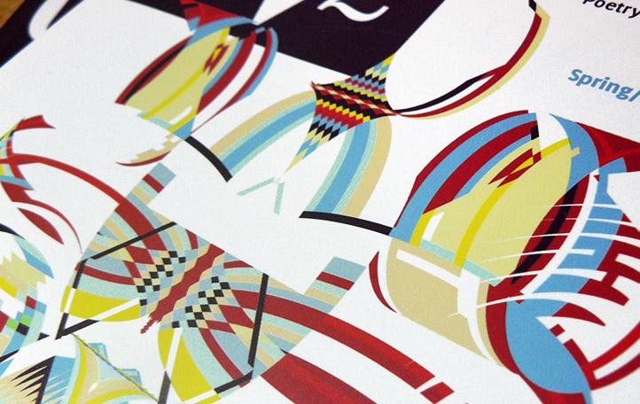 Cover illustration for CV2 magazine by Melody Morrissette. Detail.