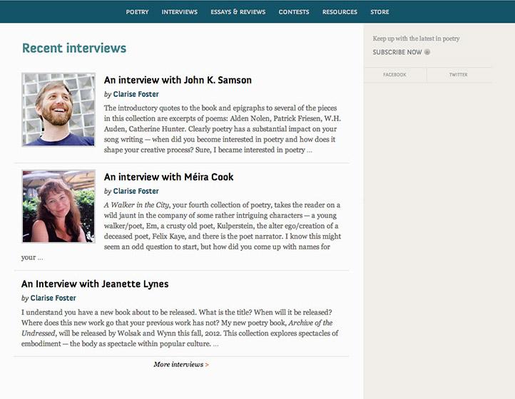 CV2 website