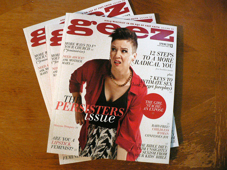 GEEZ magazine front cover